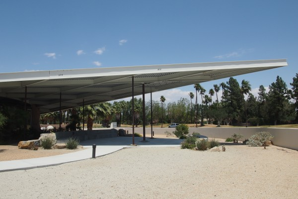 Mid-century tram gas station designed by Albert Frey | Palm Springs | CA
